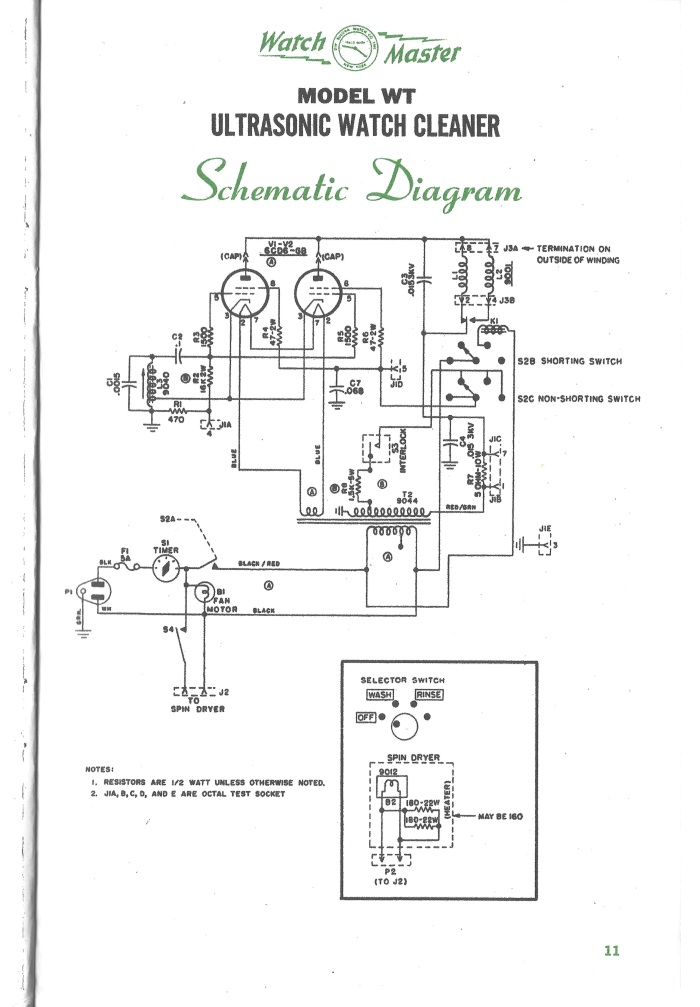WatchMaster WT Ultrasonic Watch Cleaner | Horological Stuff on multimeter schematic, washing machine schematic, vacuum cleaner schematic, chiller schematic, motor schematic, fan schematic, compressor schematic, steam cleaner schematic, hydraulic press schematic, oven schematic, heater schematic, slit lamp schematic, ultrasonic transducer circuit, light schematic, ups schematic, pump schematic, transducer schematic, heat exchanger schematic, inverter schematic, mixer schematic,